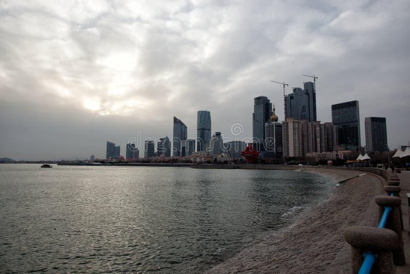 Cidade de Qingdao imagens de stock