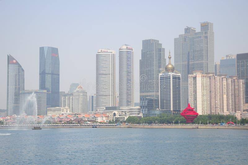 Cidade de Qingdao China fotografia de stock royalty free