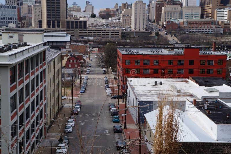 Cidade de Richmond 2 foto de stock