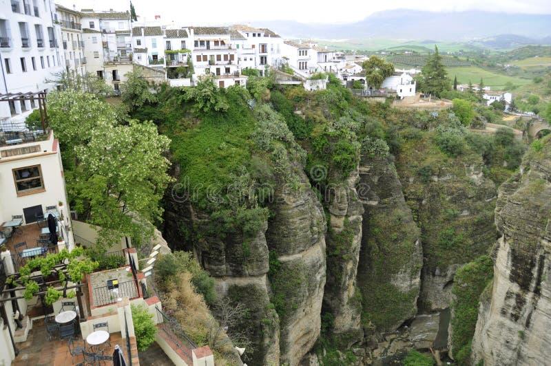 Cidade de Ronda Spain imagens de stock