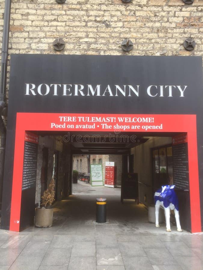 Cidade de Rotermann fotos de stock