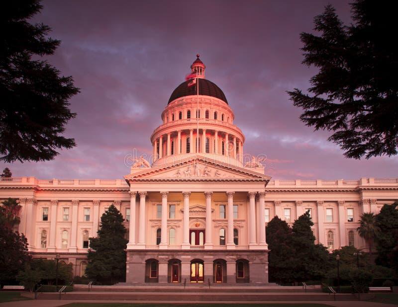 A cidade de Sacramento Califórnia imagem de stock