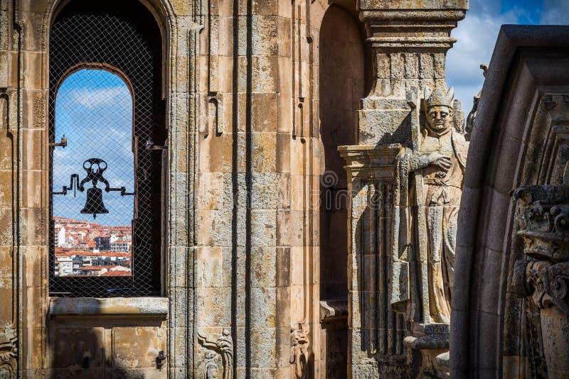 Cidade de Salamanca foto de stock