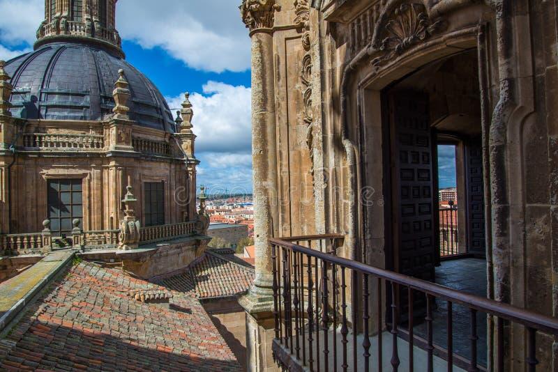 Cidade de Salamanca fotos de stock royalty free