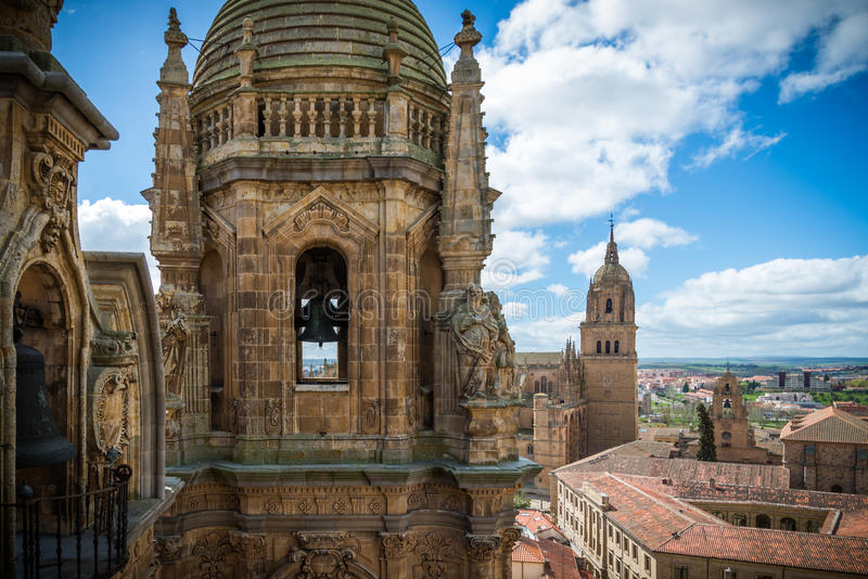 Cidade de Salamanca foto de stock royalty free