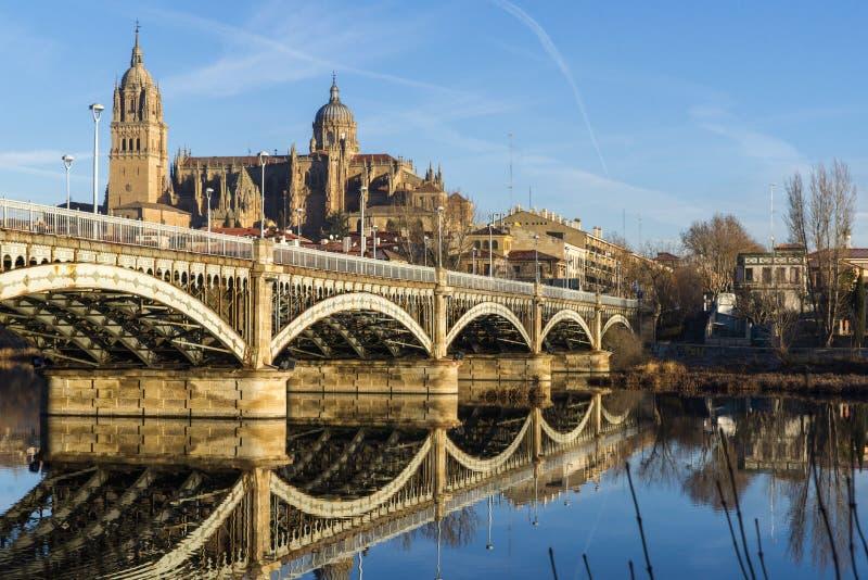 Cidade de Salamanca, Espanha imagens de stock