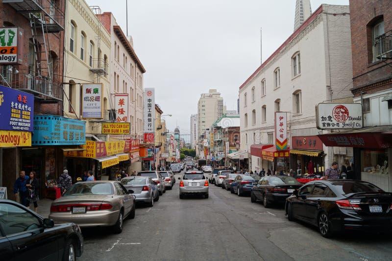 Cidade de San Francisco China imagens de stock royalty free