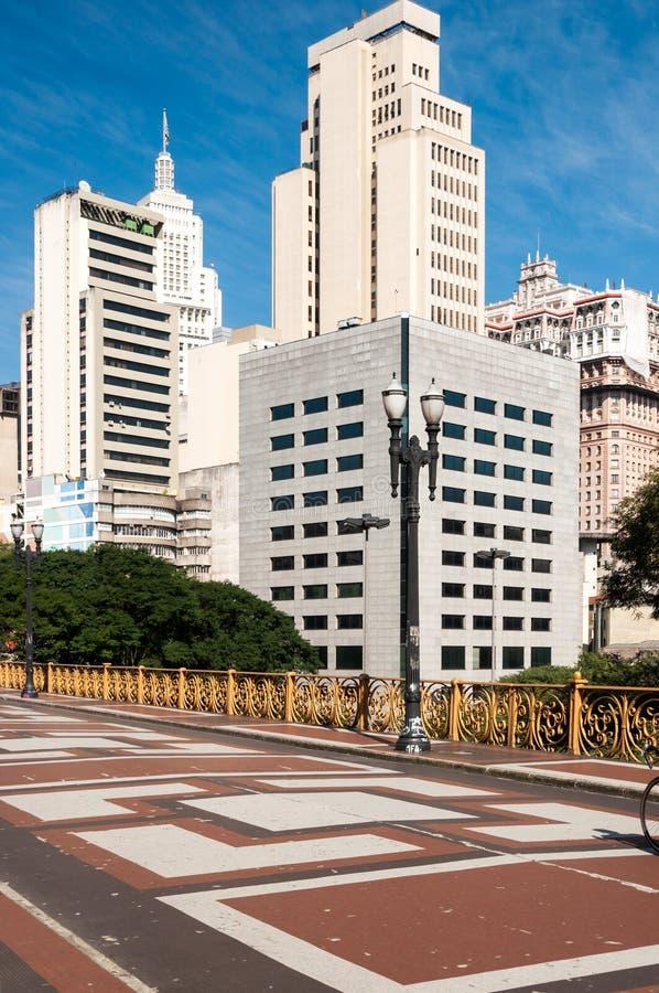 Cidade de Sao Paulo fotos de stock royalty free