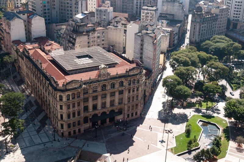 Cidade de Sao Paulo, Brasil imagens de stock royalty free