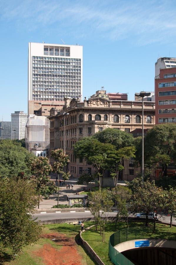 Cidade de Sao Paulo, Brasil imagens de stock