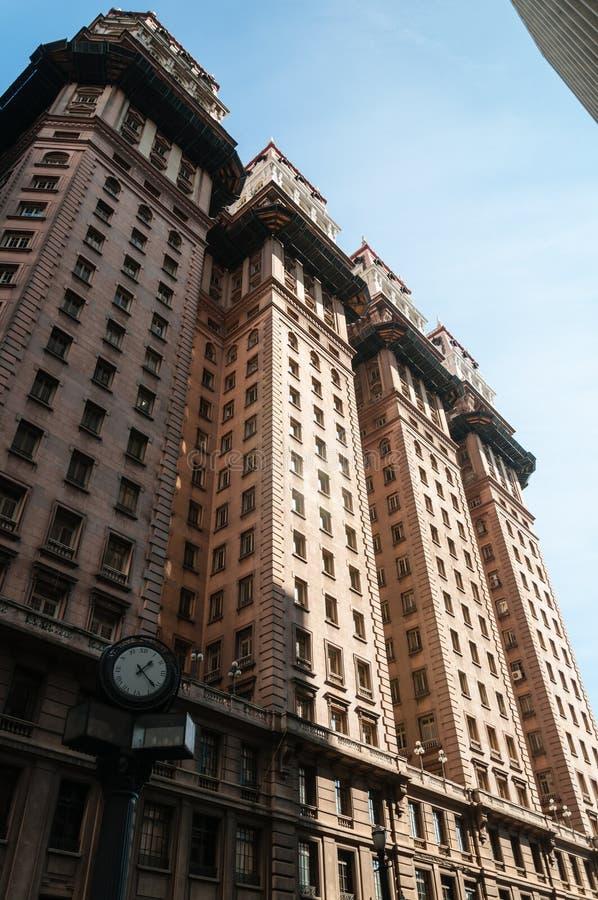 Cidade de Sao Paulo do escritório fotos de stock royalty free