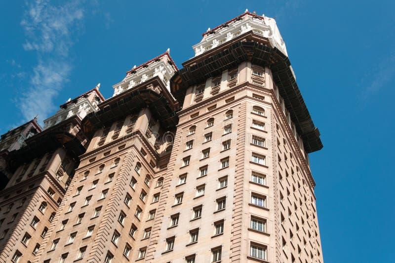 Cidade de Sao Paulo do prédio de escritórios imagem de stock royalty free
