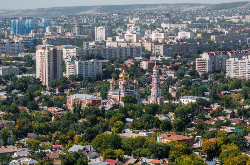 Cidade de Saratov fotografia de stock royalty free