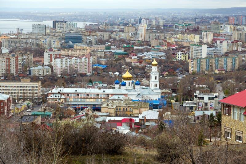 Cidade de Saratov. Rússia fotografia de stock