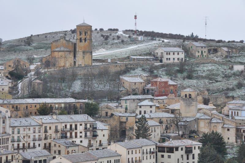 Download Cidade De Sepulveda, Dia Nevado, Segovia (Espanha) Imagem de Stock - Imagem de spain, típico: 29827395