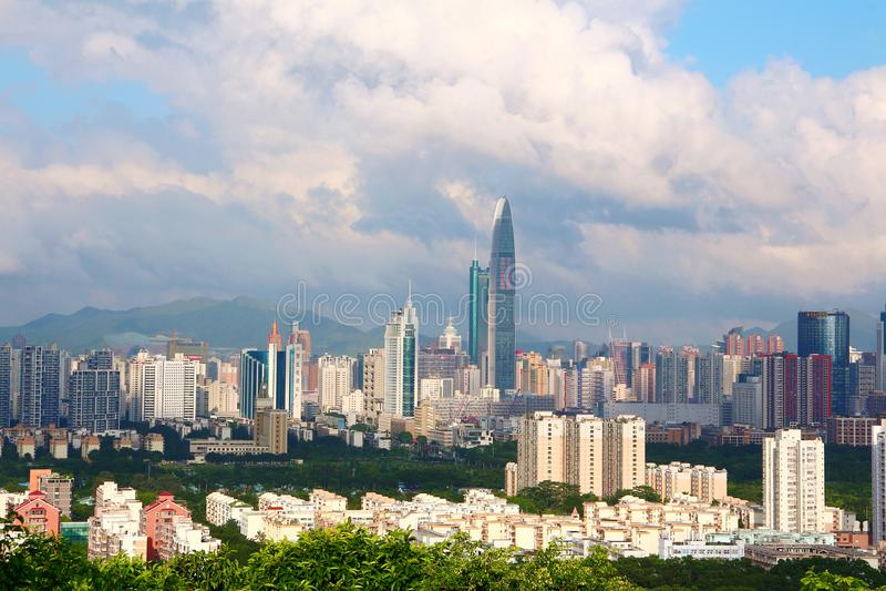 Cidade de Shenzhen imagem de stock royalty free
