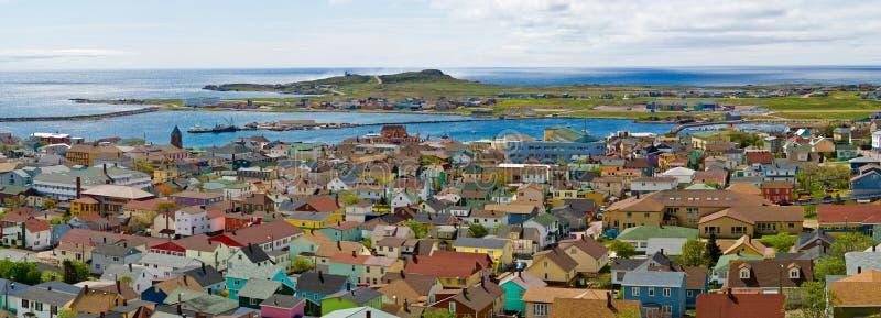 Cidade de St-Pierre fotos de stock royalty free