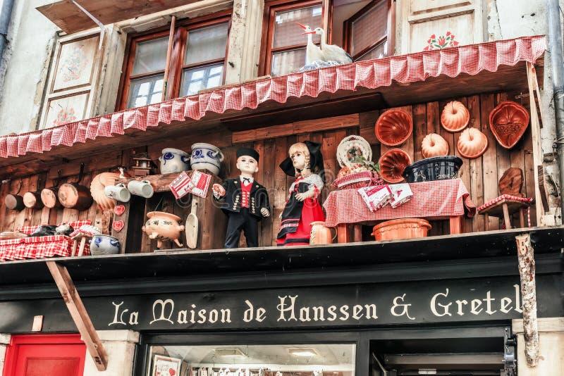 Cidade de Strasbourg imagens de stock