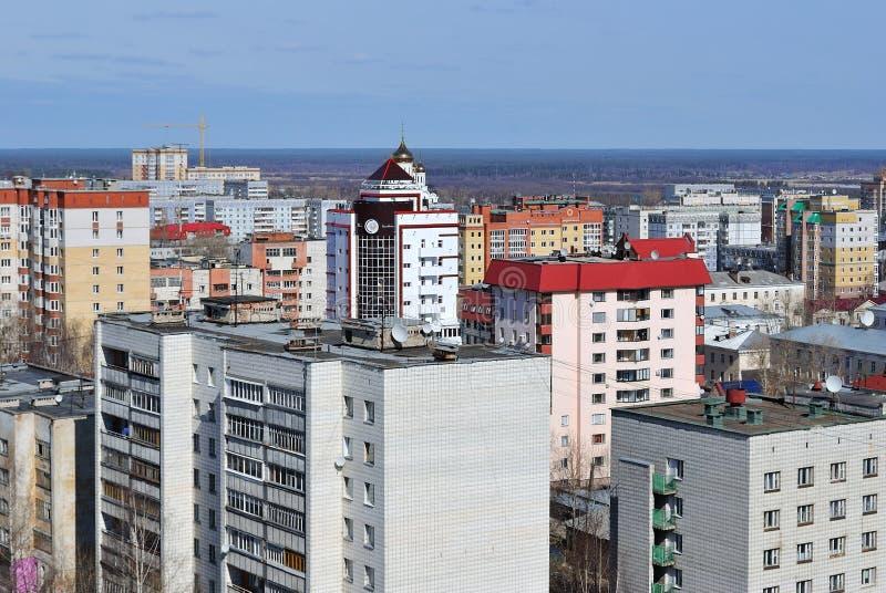 Cidade de Syktyvkar, república de Comi imagem de stock royalty free