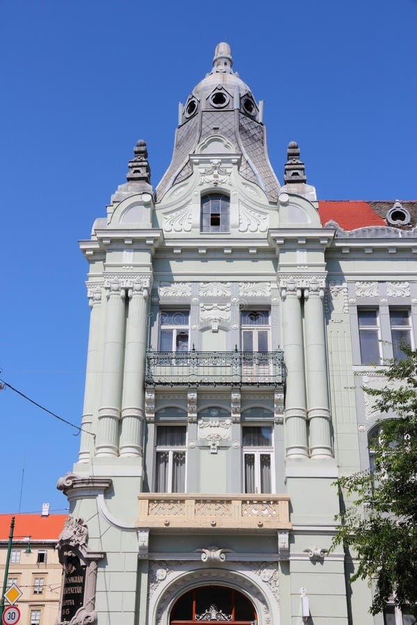 Cidade de Szeged, Hungria foto de stock royalty free