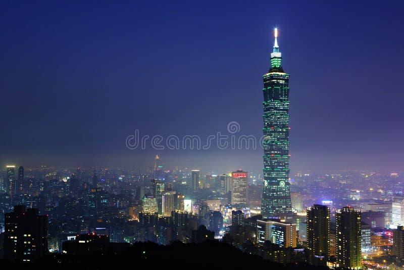Cidade de Taipei fotografia de stock