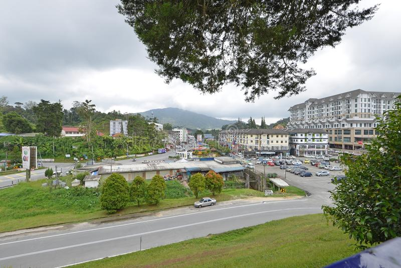 Cidade de Tanah Rata imagens de stock royalty free