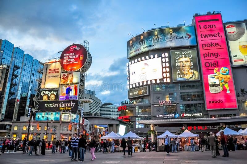Cidade de Toronto, Canadá fotos de stock