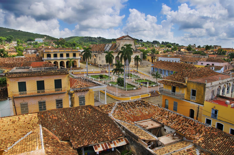 Cidade de Trinidad, Cuba imagens de stock royalty free