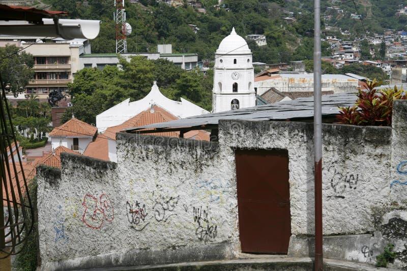CIDADE DE TRUJILLO DA VENEZUELA DE ÁMÉRICA DO SUL fotos de stock royalty free