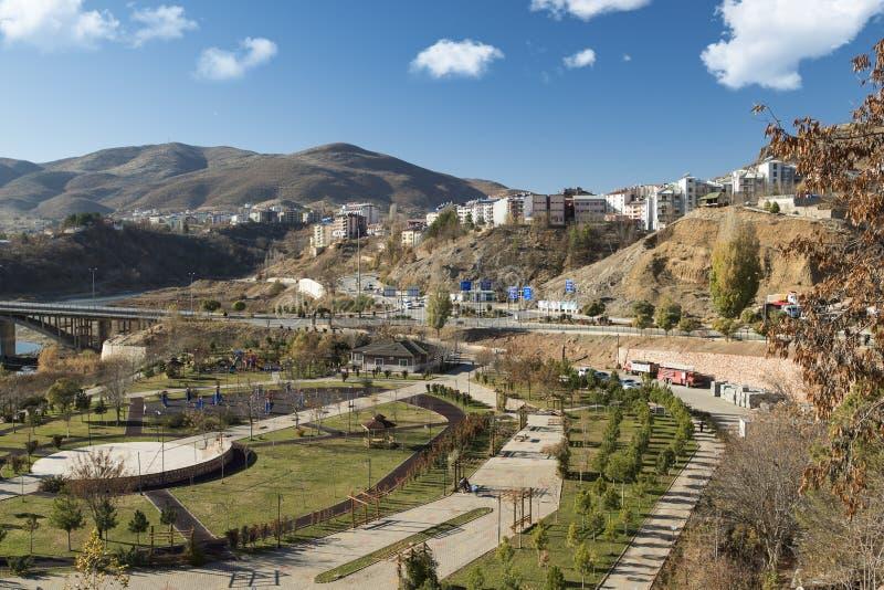Cidade de Tunceli - Turquia fotos de stock royalty free
