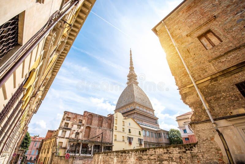 Cidade de Turin em Itália foto de stock