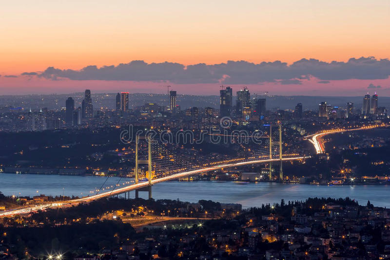 Cidade de Turquia, Istambul imagens de stock