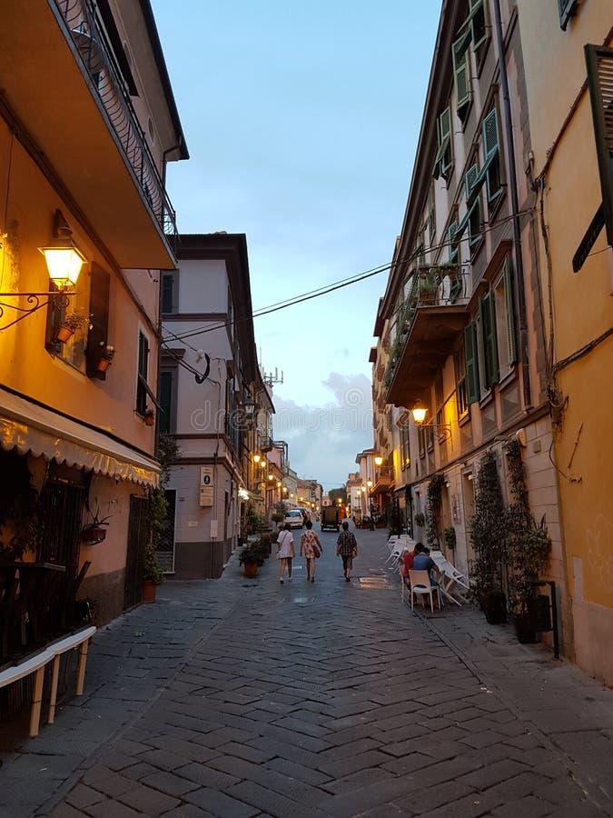 Cidade de Tuscan fotos de stock royalty free
