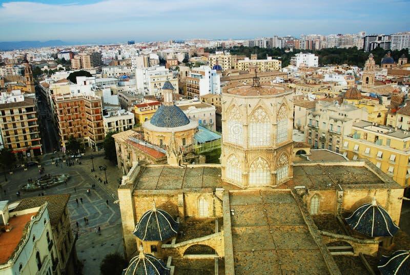 Cidade de Valença - catedral. imagens de stock royalty free