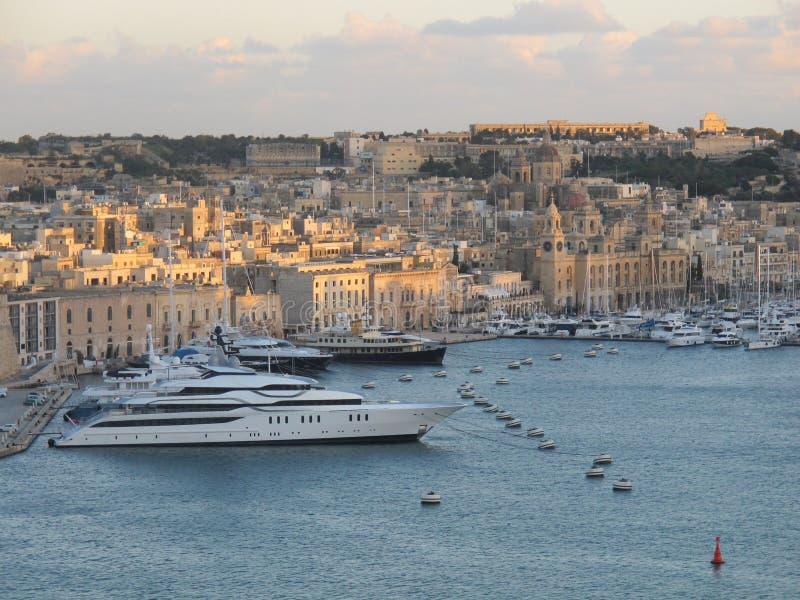 Cidade de Valleta imagens de stock royalty free