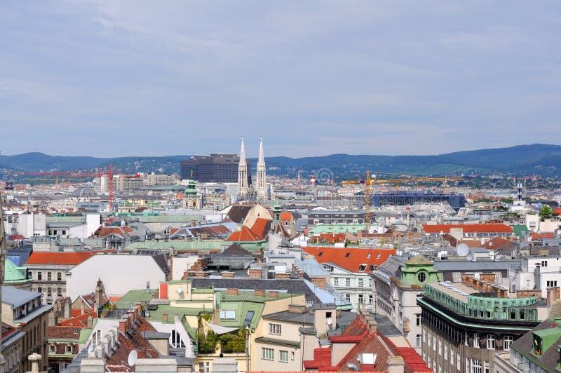 Cidade de Viena imagens de stock