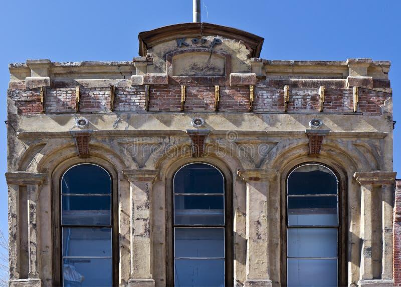 Cidade de Virgínia, arquitetura original de Nevada fotografia de stock