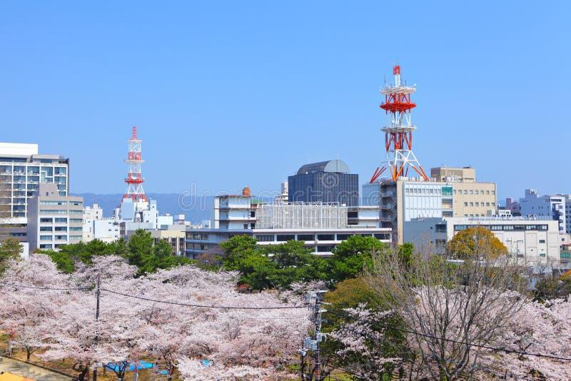 Cidade de Wakayama imagens de stock