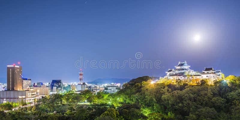 Cidade de Wakayama, Japão fotos de stock royalty free