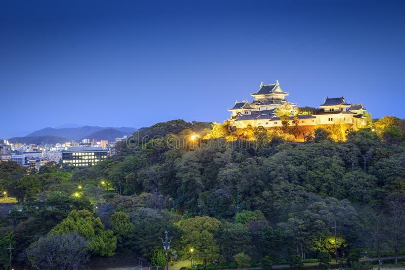 Cidade de Wakayama, Japão imagens de stock royalty free