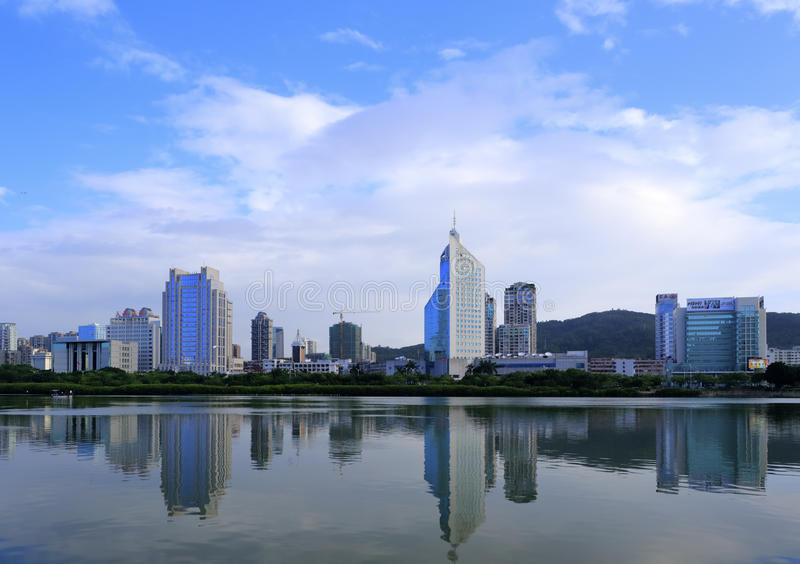 Cidade de Xiamen fotografia de stock royalty free