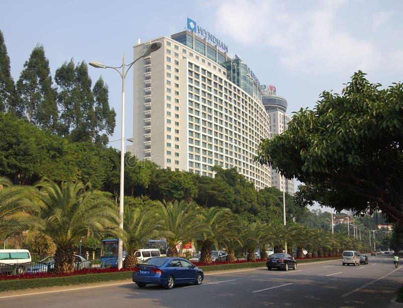 Cidade de Xiamen, China, fotos de stock royalty free