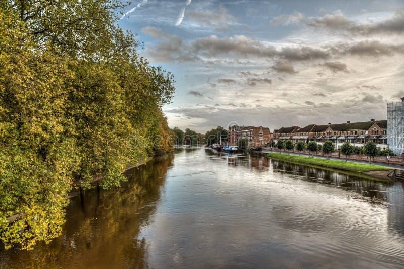 A cidade de York no Reino Unido - Inglaterra foto de stock royalty free