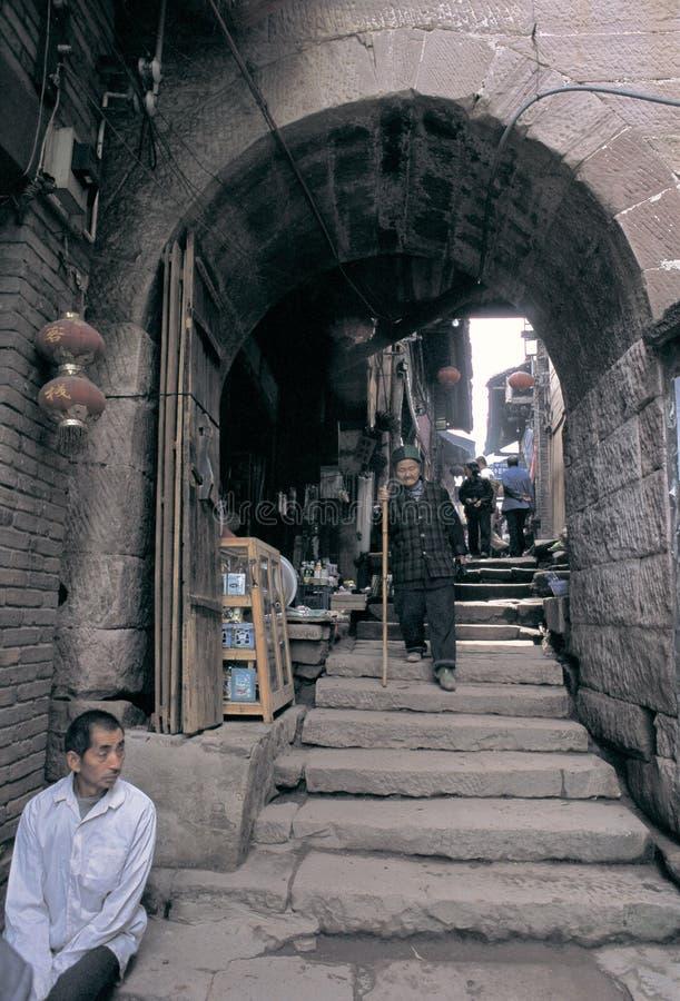 Download Cidade antiga de zhenyuan imagem editorial. Imagem de chinês - 29839350