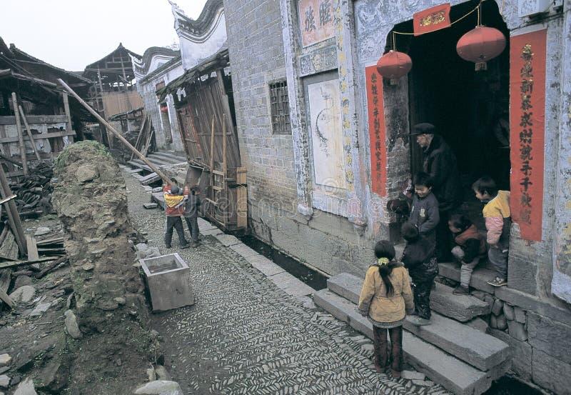 Download Cidade antiga de zhenyuan imagem editorial. Imagem de crianças - 29839475