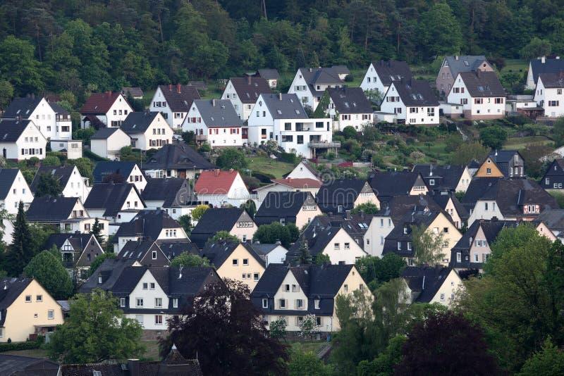 Cidade Dillenburg, Alemanha foto de stock