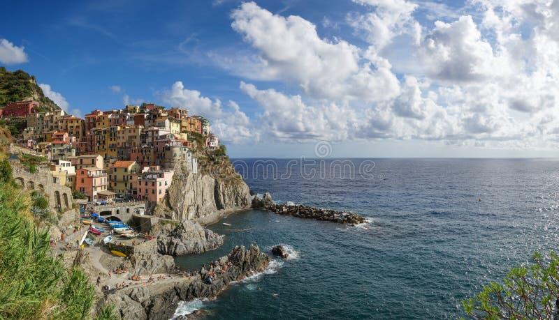 Cidade do beira-mar em Itália fotografia de stock