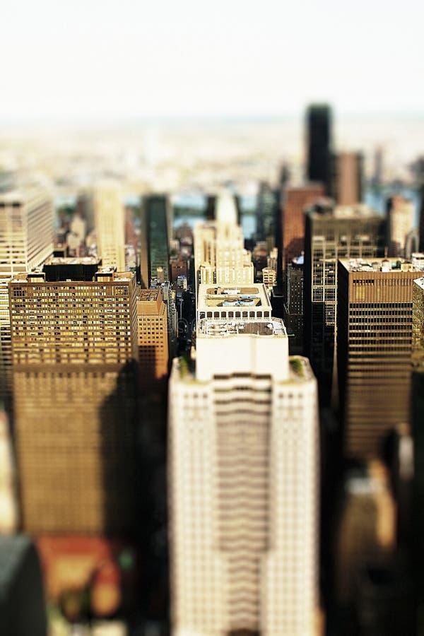 Cidade do brinquedo fotografia de stock