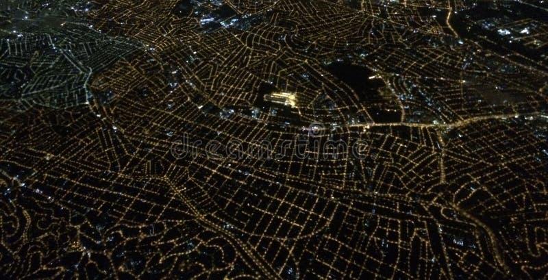 Cidade do céu fotografia de stock