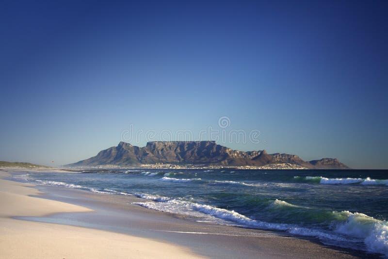 Cidade do cabo da montanha da tabela fotografia de stock royalty free